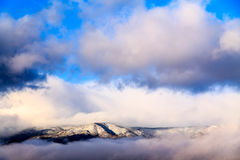 Nuvens no Mogollon Rim Plateau Imagens de Stock