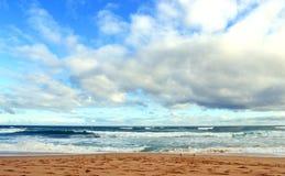 Nuvens no oceano do sul Fotos de Stock Royalty Free