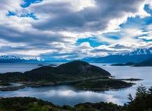 Nuvens no patagonia Fotos de Stock Royalty Free