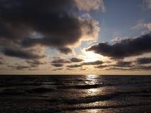 Nuvens pesadas Imagens de Stock Royalty Free