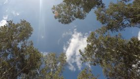 Nuvens que movem-se - lapso de tempo vídeos de arquivo