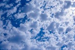 Nuvens quebradas Foto de Stock
