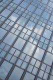 Nuvens refletidas Imagem de Stock