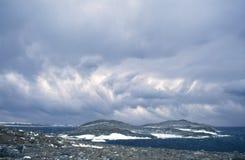 Nuvens selvagens Imagens de Stock