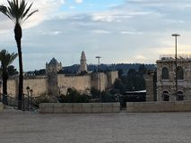 Nuvens sobre Bethlehem Foto de Stock Royalty Free