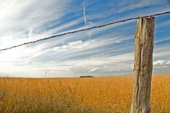 Nuvens sobre o campo 4 Imagem de Stock