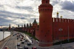 Nuvens sobre o Kremlin Foto de Stock