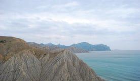 Nuvens sobre o Mar Negro Fotografia de Stock Royalty Free