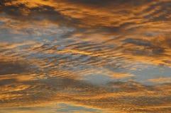 Nuvens sobre o Oceano Atlântico Fotografia de Stock Royalty Free