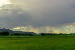Nuvens surpreendentes Fotografia de Stock