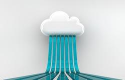 Nuvola Immagine Stock
