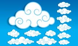 Nuvola Illustrazione di Stock