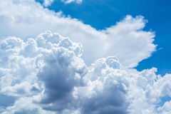 Nuvola astratta sul cielo Fotografia Stock