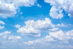 Nuvola astratta sul cielo Fotografia Stock Libera da Diritti
