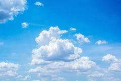 Nuvola astratta sul cielo Fotografie Stock