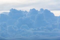 Nuvola blu alla sera Immagine Stock Libera da Diritti