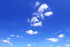 Nuvola in cielo Immagini Stock