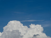 Nuvola & cielo Fotografie Stock Libere da Diritti