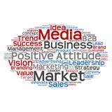 Nuvola concettuale di parola di vendita di affari Fotografia Stock Libera da Diritti