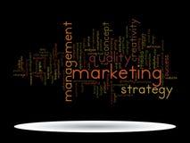 Nuvola concettuale di parola di vendita di affari Fotografia Stock