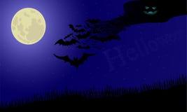 Nuvola dai pipistrelli Immagini Stock