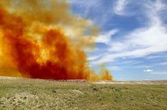 Nuvola del biossido di azoto Immagine Stock