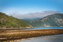 Nuvola del fiordo Fotografie Stock Libere da Diritti