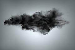 Nuvola del fondo dell'estratto della polvere Immagine Stock