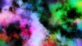Nuvola della nebulosa - spazio Immagine Stock Libera da Diritti