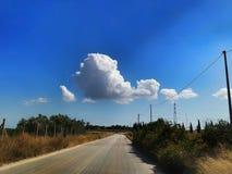 Nuvola della tartaruga Fotografia Stock