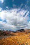 Nuvola delle montagne della steppa Fotografia Stock Libera da Diritti