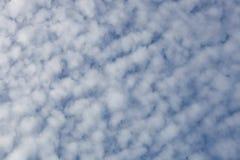 Nuvola di cirrocumulo Fotografie Stock Libere da Diritti