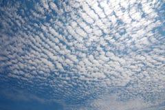 Nuvola di cirrocumulo Immagini Stock