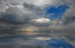 Nuvola di colore Immagine Stock Libera da Diritti