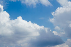 Nuvola di estate Fotografie Stock Libere da Diritti