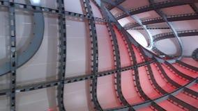Nuvola di Fuksas Roma Convention Center stock video footage