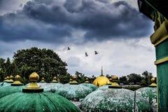 Nuvola di monsone Immagini Stock Libere da Diritti
