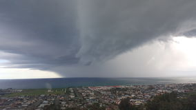 Nuvola di pioggia Immagini Stock Libere da Diritti
