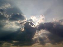 Nuvola di temporale Immagini Stock