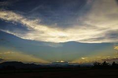 Nuvola e cielo Fotografie Stock Libere da Diritti
