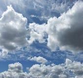 Nuvola e cielo Fotografie Stock