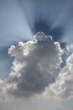 Nuvola e luce Fotografie Stock Libere da Diritti