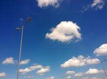 Nuvola e luci Immagini Stock Libere da Diritti