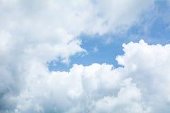 Nuvola e nuvola Immagine Stock Libera da Diritti