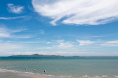 Nuvola ed isole del cielo Fotografia Stock Libera da Diritti