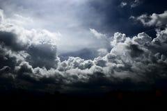 Nuvola impressionante fotografia stock