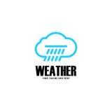 Nuvola Logo Vector Immagini Stock