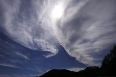 Nuvola a luogo natio Fotografia Stock