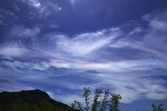 Nuvola a luogo natio Fotografia Stock Libera da Diritti