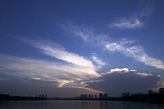 Nuvola a luogo natio Fotografie Stock Libere da Diritti